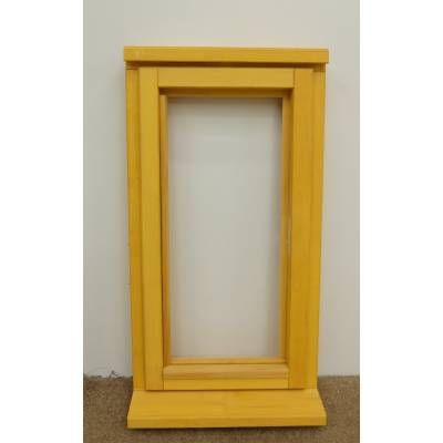 Wooden Timber Window Plain Casement Unglazed Softwood Jeldwen Jeld-wen 483x895mm - Handing (externally viewed):