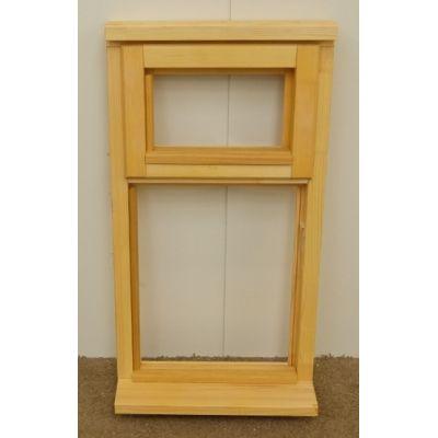 Wooden Timber Window Plain Casement Top Opening Unglazed Jeldwen  483x895mm