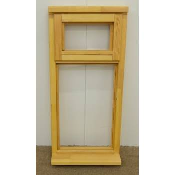 Wooden Timber Window Plain Casement Top Opening Unglazed Jeldwen 483x1045mm