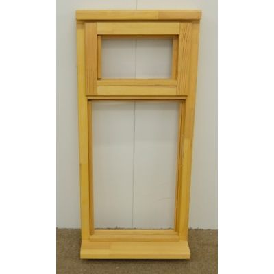 Wooden Timber Window Plain Casement Top Opening Unglazed Jeldwen 483mm