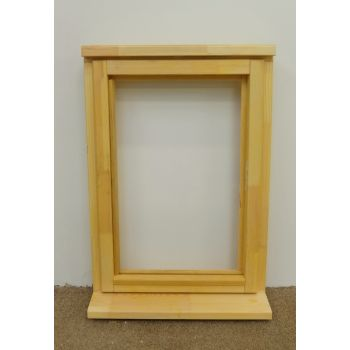 Wooden Timber Window Plain Casement Unglazed Softwood Jeldwen Jeld-wen 625x895mm