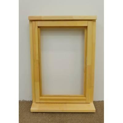 Wooden Timber Window Plain Casement Unglazed Softwood Jeldwen Jeld-wen 625x895mm - Handing (externally viewed):
