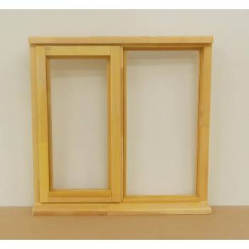 Wooden Timber Window Plain Casement Unglazed Softwood Jeldwen Jeld-wen 910x895mm
