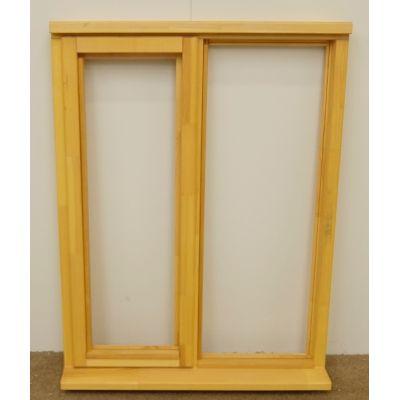 Wooden Timber Window Plain Casement Unglazed Softwood Jeldwen 910x1195mm - Handing (externally viewed):