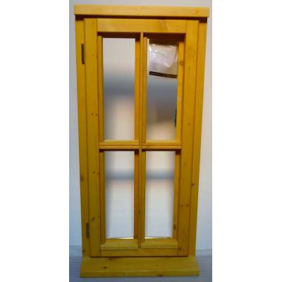 Wooden Timber Window Horizontal Centre Bar Unglazed Jeldwen 483x1045 CL