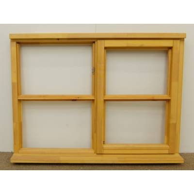 Wooden Timber Window Horizontal Centre Bar Unglazed Jeldwen 1195x895mm CL