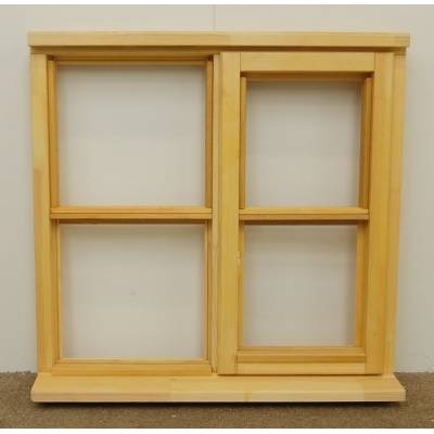Wooden Timber Window Horizontal Centre Bar Unglazed Jeldwen 910x895mm CL