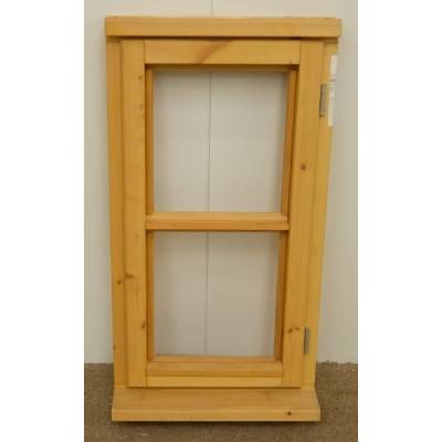 Wooden Timber Window Horizontal Centre Bar Unglazed Jeldwen 483x895mm CL