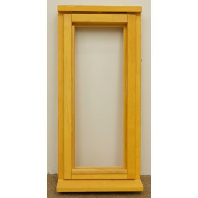 Wooden Timber Window Plain Casement Unglazed Softwood Jeld-wen 483x1045mm - Handing (externally viewed):