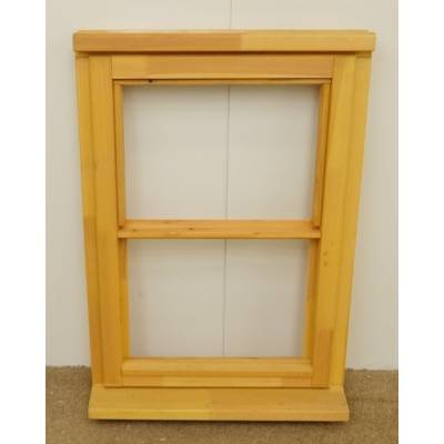 Wooden Timber Window Horizontal Centre Bar Unglazed Jeldwen 625x895mm CL