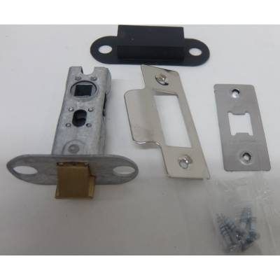 Polished Mortice Latch Catch Internal Door Lock Bolt  - Size...