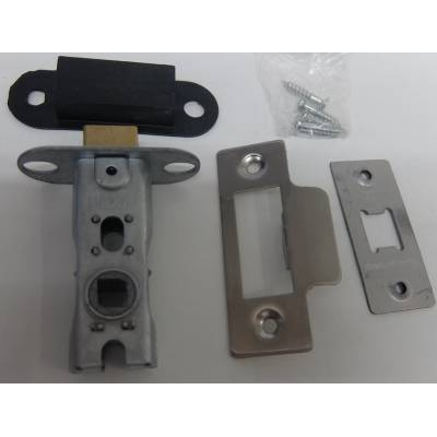 Satin Finish Mortice Latch Catch Internal Door Lock Bolt  Op...
