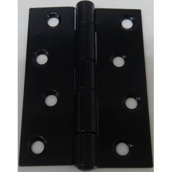 Butt Hinge Hinges Black Metal Door Gate Frame Internal External