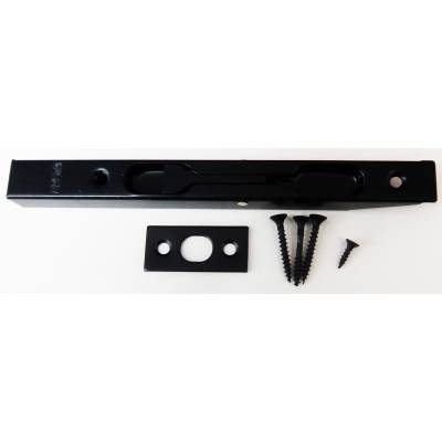 Black Flush Bolt Door Lever Action Rebated Security French D...