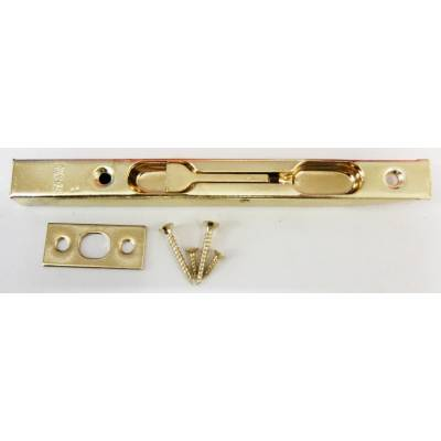 Brass Flush Bolt Door Lever Action Rebated Security French D...