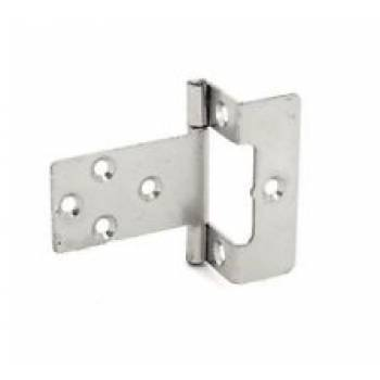 Cranked Flush Hinge Pair