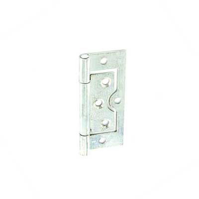 Zinc Plated Flush Door Hinge Steel Cabinet Wardrobe Pair Opt...