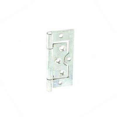 Zinc Plated Flush Door Hinge Steel Cabinet Wardrobe Pair Opt...
