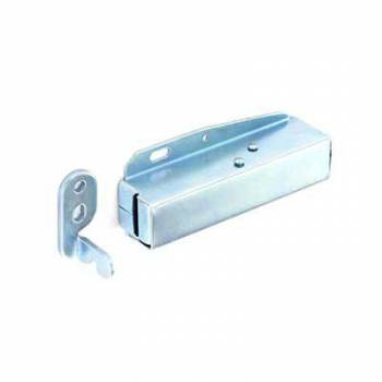 Touch Latch Zinc Plated Pressure Catch Kitchen Cabinet Cupboard Door