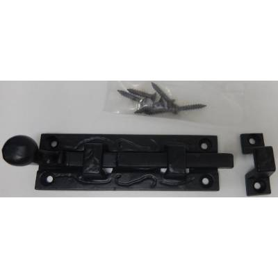 Metal Door Bolt Black Security Lock Home Bathroom Bedroom 10...