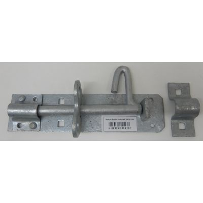 Galvanised Padbolt Brenton Bolt Padlock Medium 6inch Gate Do...