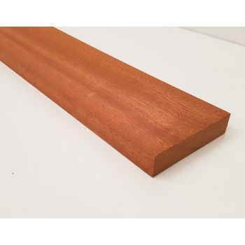 Planed Sapele Wood Hardwood Timber Wooden Kiln Dried Untreated 94x20mm 4x1""