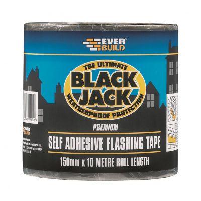 Self Adhesive Flashing Tape Weatherproof Black Jack Roof Roo...
