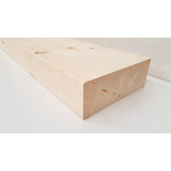 "195x70mm 8x3"" Regularised Untreated Structural Graded Timber Joists"
