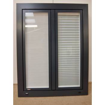 PVC Window Tilt & Turn Double Glazed & Blinds 980x1250mm FW001 (910x1195)