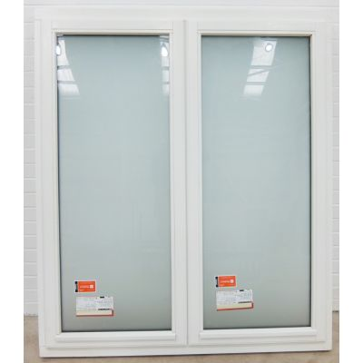 Wooden Timber Window  Stormproof Casement White 1345x1545mm ...