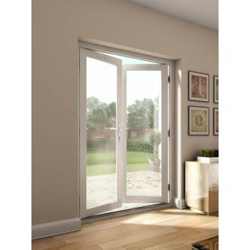 Farndale External Glazed French Doors Wooden Timber