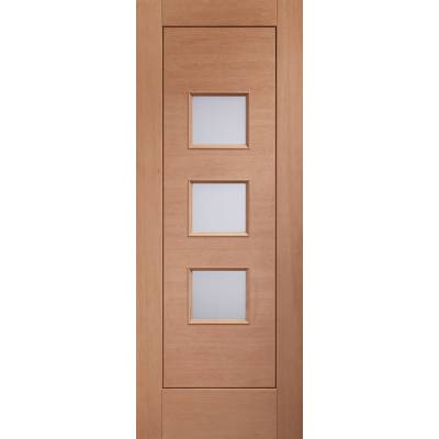 Hardwood Turin Glazed External Door Wooden Timber Unglazed