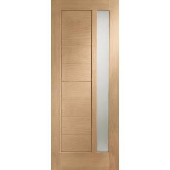 Oak Modena Glazed Internal Door