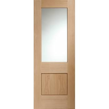 Oak Piacenza With Clear Glass