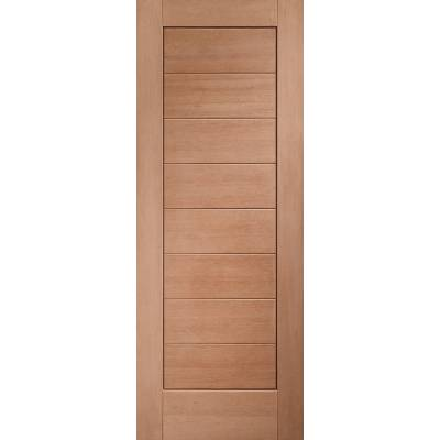 Hardwood Modena External Door Wooden Timber Unglazed