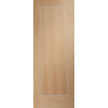 Pre-finished Varese Oak Internal Door Wooden Timber