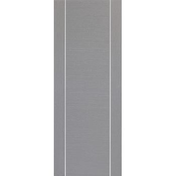 Pre-finished Forli Light Grey Fire Door