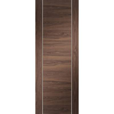 Pre-finished Forli Walnut Fire Door Internal Door Wooden Tim...