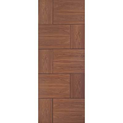 Pre-finished Ravenna Walnut Internal Door Wooden Timber - Do...
