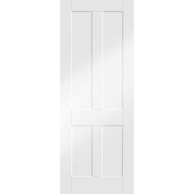 Victorian Shaker Internal White Primed Door - Door Size, HxW...