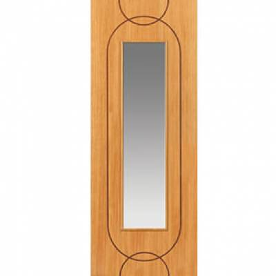 Pre Finished Contemporary Oak Agua Glazed - Door Size, HxW: