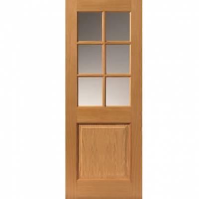 Pre finished Classic Oak Arden Internal Door  - Door Size, H...