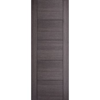 Pre-finished Vancouver Ash Grey Internal Fire Door Wooden Timber