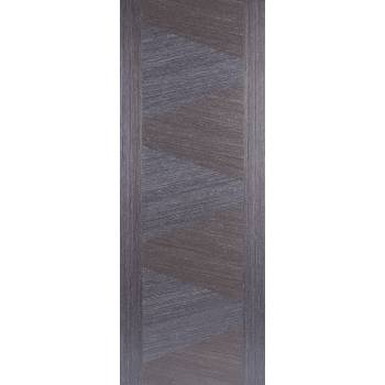 Pre-finished Zeus Ash Grey Internal Fire Door Wooden Timber
