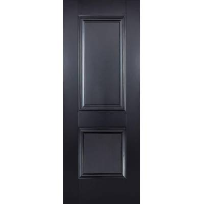 Black Primed Arnhem Internal Door  - Door Size, HxW: ...