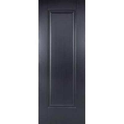 Black Primed Eindhoven Internal Door  - Door Size, HxW: ...
