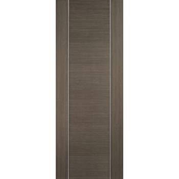 Pre-finished Alcaraz Chocolate Grey Internal Door Wooden Timber