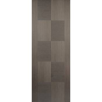Pre-finished Apollo Chocolate Grey Internal Door Wooden Timber