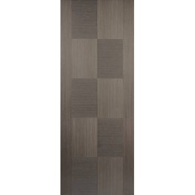 Pre-finished Apollo Chocolate Grey Internal Door Wooden Timber - Door Size, HxW: