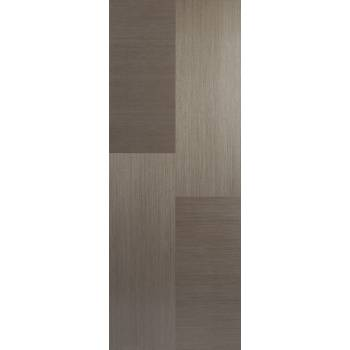 Pre-finished Hermes Chocolate Grey Internal Door Wooden Timber